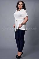 Летняя женская блуза большого размера
