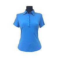 Голубая футболка - поло Kira Plastinina