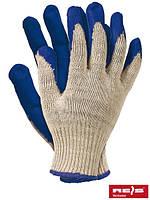 Защитные рукавицы, покрытые резиной RU N