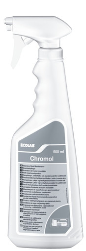 Средство для ухода за поверхностями из нержавеющего металла Chromol Хромол 0,5 л