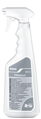 Средство для ухода за поверхностями из нержавеющего металла Chromol Хромол 0,5 л - Евровоз в Киеве