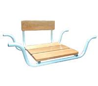 Сидіння для ванни поглиблене зі спинкою MEDOK