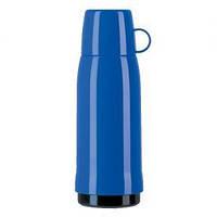 Термос Emsa ROCKET со стеклянной колбой синий, 0,75 л.