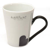 Кофейная чашка Lover by Lover белая, 0,25 л, (2 шт.) BergHOFF