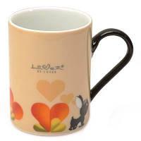 Кофейная кружка Lover by Lover желтая, 0,3 л, (2 шт.) BergHOFF