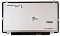 "Матрица 14.0"" B140RW02 (1600*900, 40pin, LED, SLIM, глянцевая, разъем справа внизу) для ноутбука"