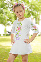 Вышитое платье для девочки «Лилея», фото 1