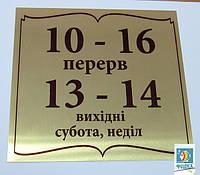 Информационные таблички, Шильды, Номерки, Бирки