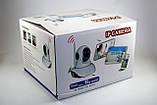 Безпроводная (WI-FI) проводная IP камера с возможностью удаленного управления, ночное видение, фото 7