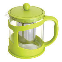 Чайник заварочный для чая, стекл., в подставке, 1 л BergHOFF