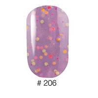 Гель-лак Naomi 6 мл Candy Bar 206