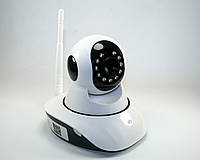 Беспроводная (WI-FI) проводная IP камера с возможностью удаленного управления, ночное видение