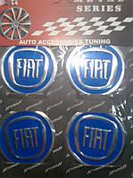 Наклейка на колпачок диска Fiat диаметр 60 мм