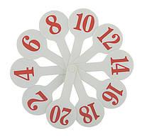 Набор цифр (веер)
