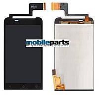 Оригинальный  дисплей (модуль)  + сенсор (тачскрин) для HTC One V | T320e | G24 (черный)
