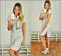 Легкое летнее платье м-40122