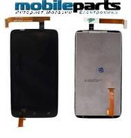 Оригинальный  Дисплей (Модуль) + Сенсор (Тачскрин) для  HTC One X | X+ | XL | G23 | S720E (Черный)
