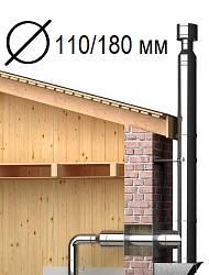Дымоходы Ø110/180 мм нерж/оцинк