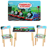 Детский столик и два стульчика  501-27