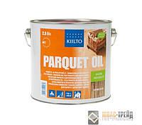 TM Kiilto Parquet Oil -масло для поверхностной обработки паркетных и деревянных полов(ТМ Килто Паркет Оил)2.5л