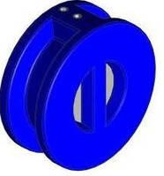 Двухстворчатый обратный клапан DN 125 – межфланцевый Polix