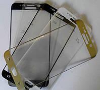 Защитное стекло Samsung S6 edge plus 3D (0.1mm 9H), AWM, идеальный изгиб, фото 1