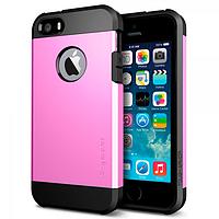 Бампер для iPhone 4/4S - SGP Slim Armor, розовый