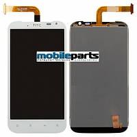 Оригинальный  дисплей (модуль) + сенсор (тачскрин) для HTC Sensation XL | G21 | X315e (белый)