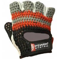 Легкие перчатки для фитнеса Power System PS-2100 черно-красный