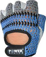 Легкие перчатки для фитнеса Power System PS-2100 черно-синий
