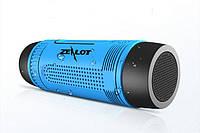 Портативная Bluetooth колонка Zealot S1 с функцией power bank и фонариком, фото 1