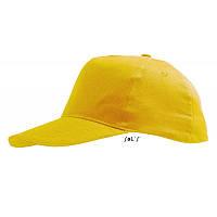 Бейсболка желтая SOL'S SUNNY под нанесение логотипа