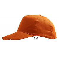 Бейсболка оранжевая SOL'S SUNNY под нанесение логотипа