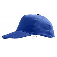 Бейсболка синяя SOL'S SUNNY под нанесение логотипа, фото 1