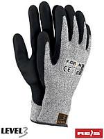 Перчатки защитные, изготовленные из пряжи HDPE R-CUT3-NI BWB