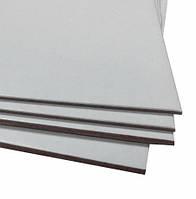 Картон переплетный БЕЛЫЙ толщ. от 1 до 2,5 мм формат  930×1050 мм, 920×1050 мм, 850×1000 мм, 800×1000 мм