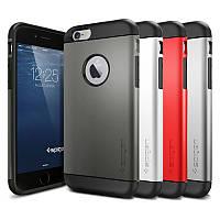 Бампер для iPhone 6/6S - SGP Slim Armor (разные цвета)