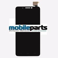 Оригинальный Дисплей (Модуль) + Сенсор (Тачскрин) для Alcatel OT6030D | OT6030X (Черный)