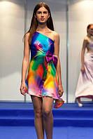 Платье из эксклюзивного шелка