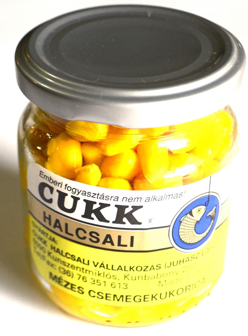 Кукуруза Cukk сухая наживка, Мед, 125 гр