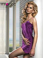 Miorre ночная сорочка на бретелях фиолетовая
