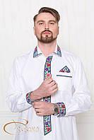 Стильна вишита сорочка, фото 1