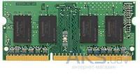 Оперативная память для ноутбука Kingston 2GB SO-DIMM DDR3 1600  МГц (KVR16S11S6/2)