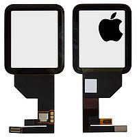 Touchscreen (сенсорный экран) для Apple Watch 42 mm, черный, оригинал