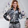 Брендовый турецкий костюм Bono «Серебристый леопард» разм 36 и 42 евро