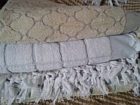 Махровое турецкое полотенце для сауны Клетка
