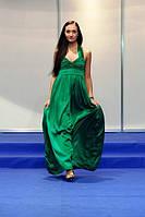 Вечернее платье из натурального шелка
