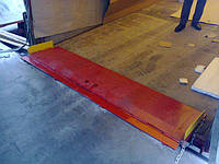 Аппарель откидная Docker механическая 2200х500мм