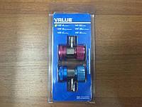 Муфта заправочная VALUE VHF-A для автокондиционеров (комплект)