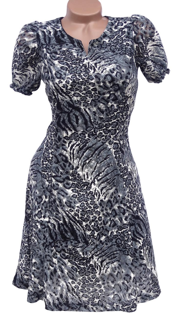 Летнее платье-сеточка (в расцветках 44-48)